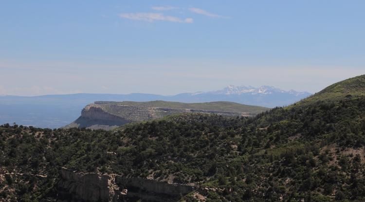 Aussicht im Mesa Verde Nationalpark