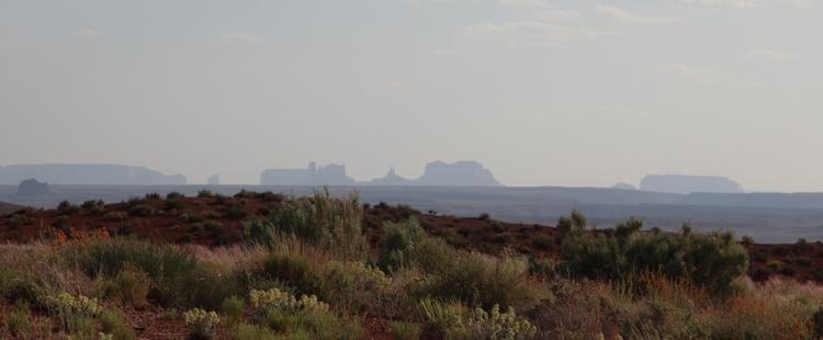 Monument Valley aus der Ferne