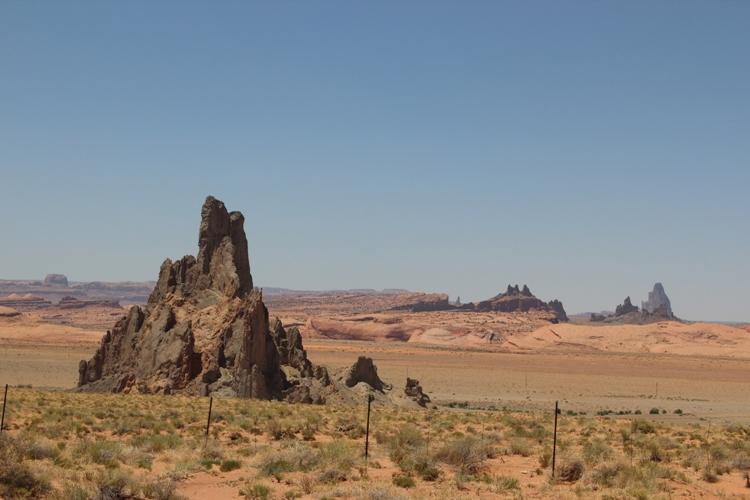 Felsen bei Kayenta