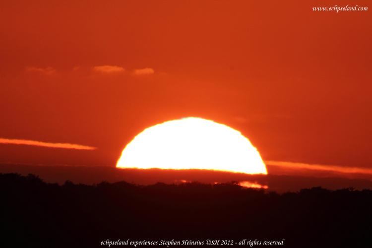 Sonnenuntergang über Rügen