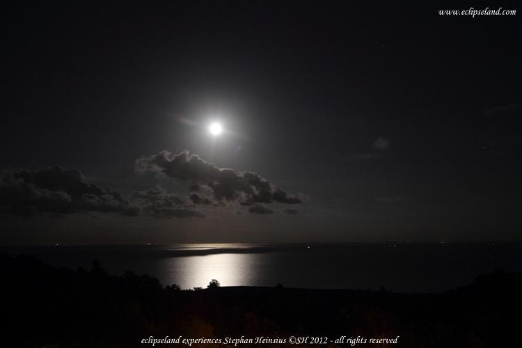 Mondnacht über Rügen