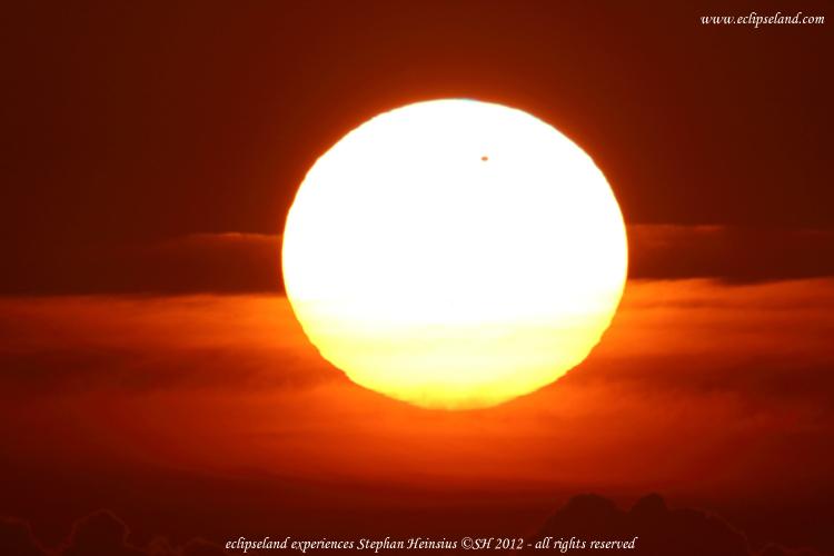 Feuersonne mit Venus